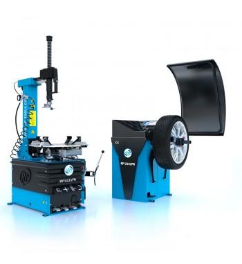 Montirni in centrirni stroj