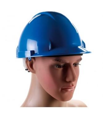Delovna čelada - modra