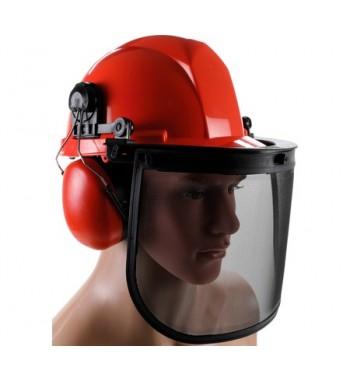Zaščitna čelada z vizirjem...